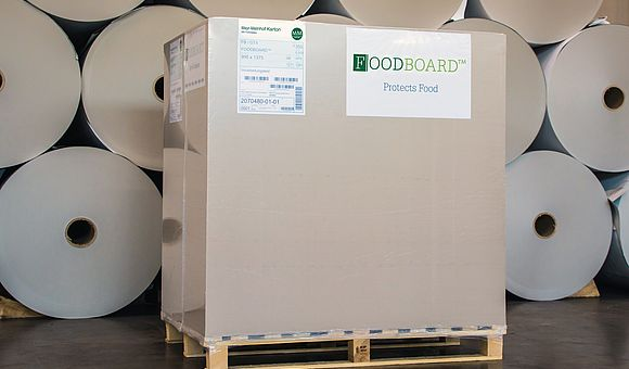 FOODBOARD™ pallet ready for shipment