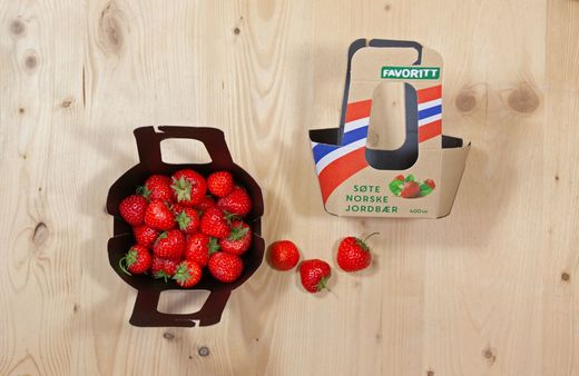 strawberry trays