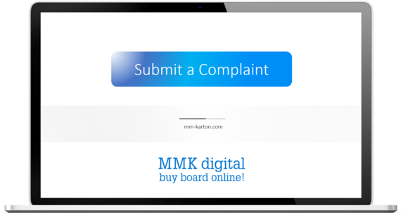 Submit a complaint in MMK digital