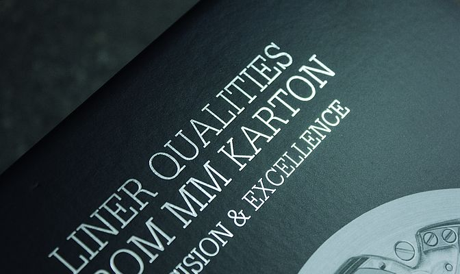 Precision & Excellence: White Top Coated Recycled Liner by MM Karton